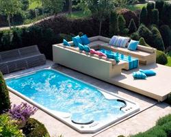 Aquasport swimspa baseinai