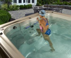AquaPlay swim spa baseinai