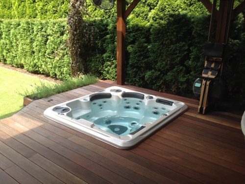 Self-Cleaning spa baseinų serija